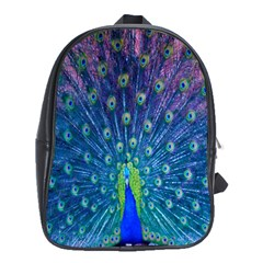 Amazing Peacock School Bags (XL)  by Simbadda