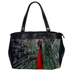 Red Peacock Office Handbags by Simbadda