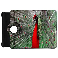Red Peacock Kindle Fire Hd 7  by Simbadda