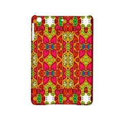 Abstract Background Design With Doodle Hearts Ipad Mini 2 Hardshell Cases by Simbadda