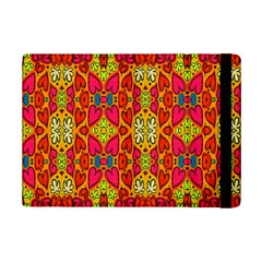 Abstract Background Design With Doodle Hearts Ipad Mini 2 Flip Cases by Simbadda
