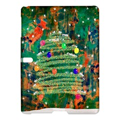 Watercolour Christmas Tree Painting Samsung Galaxy Tab S (10 5 ) Hardshell Case  by Simbadda