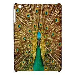Peacock Bird Feathers Apple Ipad Mini Hardshell Case by Simbadda