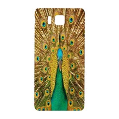 Peacock Bird Feathers Samsung Galaxy Alpha Hardshell Back Case by Simbadda
