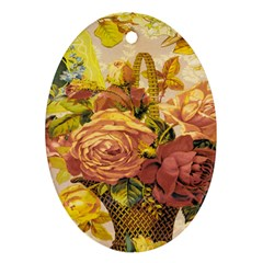 Victorian Background Ornament (oval) by Simbadda