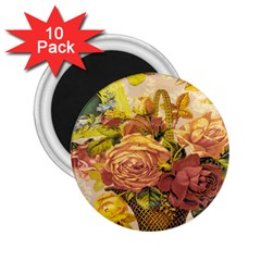 Victorian Background 2 25  Magnets (10 Pack)