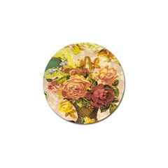 Victorian Background Golf Ball Marker (10 Pack) by Simbadda