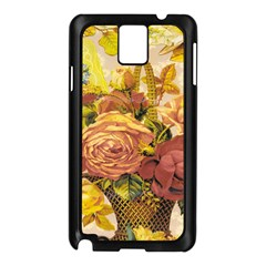 Victorian Background Samsung Galaxy Note 3 N9005 Case (black) by Simbadda