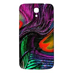 Peacock Feather Rainbow Samsung Galaxy Mega I9200 Hardshell Back Case by Simbadda