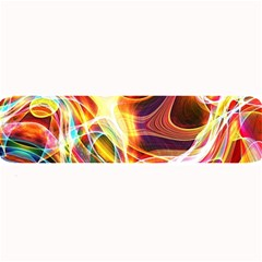 Colourful Abstract Background Design Large Bar Mats by Simbadda
