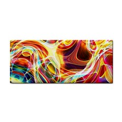 Colourful Abstract Background Design Cosmetic Storage Cases by Simbadda