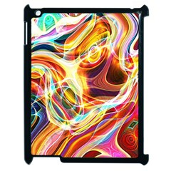 Colourful Abstract Background Design Apple Ipad 2 Case (black) by Simbadda