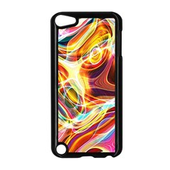 Colourful Abstract Background Design Apple Ipod Touch 5 Case (black) by Simbadda