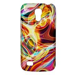 Colourful Abstract Background Design Galaxy S4 Mini by Simbadda