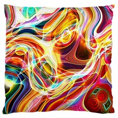 Colourful Abstract Background Design Standard Flano Cushion Case (one Side) by Simbadda