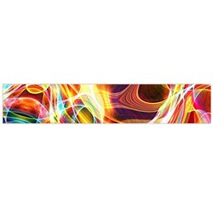 Colourful Abstract Background Design Flano Scarf (large) by Simbadda