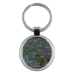 Stone Paints Texture Pattern Key Chains (round)  by Simbadda