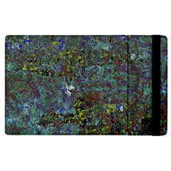 Stone Paints Texture Pattern Apple Ipad 3/4 Flip Case by Simbadda