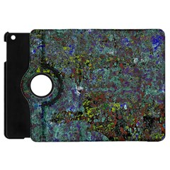 Stone Paints Texture Pattern Apple Ipad Mini Flip 360 Case by Simbadda