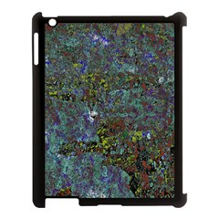 Stone Paints Texture Pattern Apple Ipad 3/4 Case (black) by Simbadda