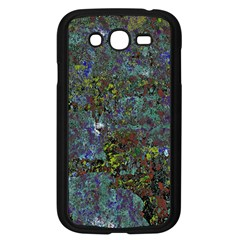 Stone Paints Texture Pattern Samsung Galaxy Grand DUOS I9082 Case (Black) by Simbadda