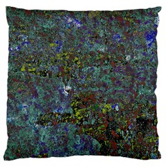 Stone Paints Texture Pattern Large Flano Cushion Case (one Side) by Simbadda