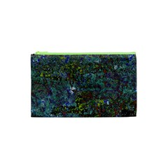 Stone Paints Texture Pattern Cosmetic Bag (xs) by Simbadda