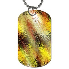 Multi Colored Seamless Abstract Background Dog Tag (two Sides) by Simbadda