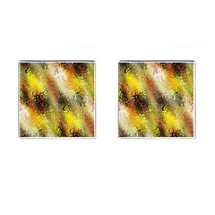 Multi Colored Seamless Abstract Background Cufflinks (square) by Simbadda