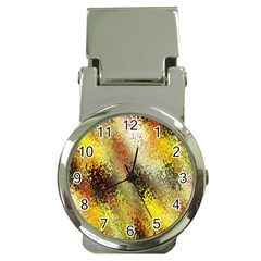 Multi Colored Seamless Abstract Background Money Clip Watches by Simbadda