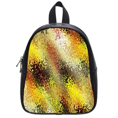 Multi Colored Seamless Abstract Background School Bags (small)  by Simbadda