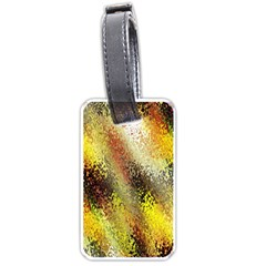Multi Colored Seamless Abstract Background Luggage Tags (two Sides)