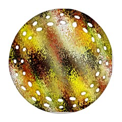 Multi Colored Seamless Abstract Background Ornament (round Filigree) by Simbadda