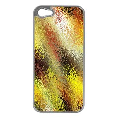 Multi Colored Seamless Abstract Background Apple Iphone 5 Case (silver) by Simbadda