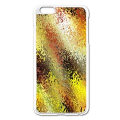 Multi Colored Seamless Abstract Background Apple Iphone 6 Plus/6s Plus Enamel White Case by Simbadda
