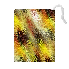 Multi Colored Seamless Abstract Background Drawstring Pouches (extra Large) by Simbadda