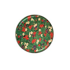 Berries And Leaves Hat Clip Ball Marker (10 Pack) by Simbadda