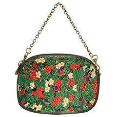 Berries And Leaves Chain Purses (one Side)  by Simbadda