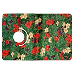 Berries And Leaves Kindle Fire Hdx Flip 360 Case by Simbadda