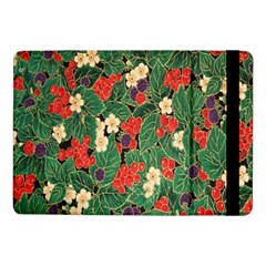 Berries And Leaves Samsung Galaxy Tab Pro 10 1  Flip Case by Simbadda