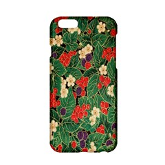 Berries And Leaves Apple Iphone 6/6s Hardshell Case by Simbadda
