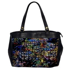 Multi Color Peacock Feathers Office Handbags by Simbadda