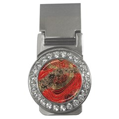 Red Gold Black Background Money Clips (cz)  by Simbadda