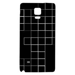 Abstract Clutter Galaxy Note 4 Back Case by Simbadda
