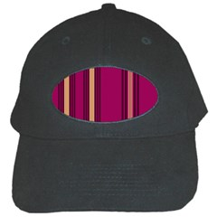 Stripes Background Wallpaper In Purple Maroon And Gold Black Cap by Simbadda