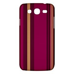 Stripes Background Wallpaper In Purple Maroon And Gold Samsung Galaxy Mega 5.8 I9152 Hardshell Case