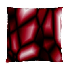 Red Abstract Background Standard Cushion Case (one Side) by Simbadda