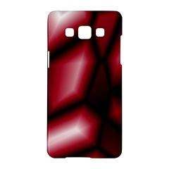 Red Abstract Background Samsung Galaxy A5 Hardshell Case  by Simbadda