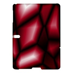 Red Abstract Background Samsung Galaxy Tab S (10 5 ) Hardshell Case  by Simbadda
