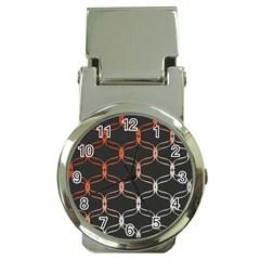 Cadenas Chinas Abstract Design Pattern Money Clip Watches by Simbadda